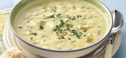 Pollo al limón en sopa de arroz